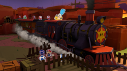 Sunset Express from Paper Mario: Color Splash