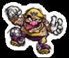 Sticker of Wario from Super Smash Bros. Brawl.