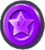 This is the Purple Challenge Coin from Super Mario Run