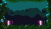 Mario in the level Swamp 3.