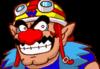 A sprite of Wario, from WarioWare, Inc.: Mega Microgame$!.