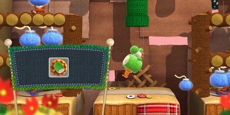 Picture shown with the fourth question in Yoshi's Woolly World Power Badges Quiz