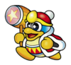 A sticker of King Dedede in the game Super Smash Bros. Brawl.