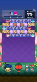 Stage 1070 from Dr. Mario World