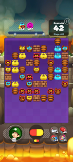 Stage 405 from Dr. Mario World