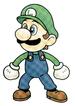 Super Smash Bros. artwork: Luigi