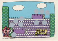 A Nintendo Game Pack scratch-off game card of Super Mario Bros. 2 (Screen 5 of 10)