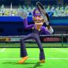 Waluigi's taunt from Mario Sports Superstars