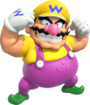 Artwork of Wario in Mario Party: The Top 100