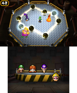 Amp My Style in Mario Party: Island Tour