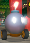 A Bob-omb Car from Mario Kart Wii