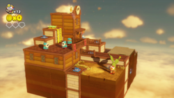 Pop-Up Prairie Town from Captain Toad: Treasure Tracker