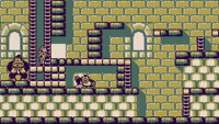 Stage 9-2 of Donkey Kong for the Game Boy