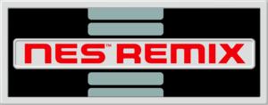 English logo of NES Remix.