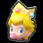 Baby Peach's head icon in Mario Kart 8