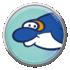 Dolphin badge in Mario Kart Tour