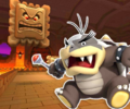 GBA Bowser's Castle 1 from Mario Kart Tour