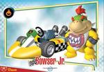 Bowser Jr.'s Mario Kart Wii trading card