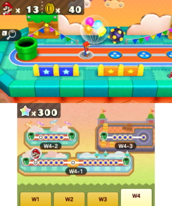 World 4 in Minigame Island from Mario Party: The Top 100