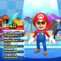 Mario Mii Costume in the game Mario & Sonic at the London 2012 Olympic Games for the Wii.