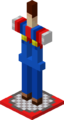 Minecraft Mario Mash-Up Armor Stand Without Arms Render.png