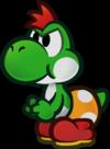 Mini-Yoshi trophy from Super Smash Bros. for Wii U