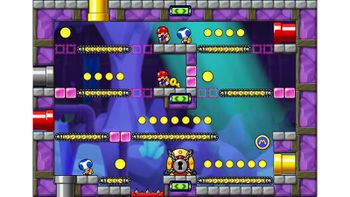 Miiverse screenshot of the 12th official level in the online community of Mario vs. Donkey Kong: Tipping Stars