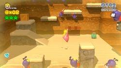Princess Peach in Ant Trooper Hill of Super Mario 3D World