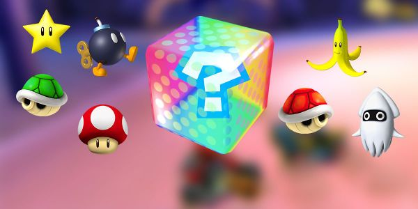 Banner for a Play Nintendo opinion poll on which Lucky Seven item is the luckiest in Mario Kart 7. Original filename: <tt>2x1_LuckySeven_v02.0290fa9874e6c2e6db1c3f61b1e85eb024429302.jpg</tt>