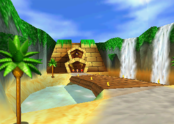 Jungle Falls, from Diddy Kong Racing.