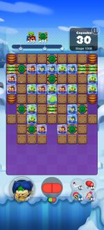 Stage 1008 from Dr. Mario World