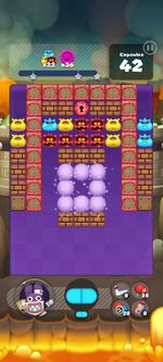 Stage 429 from Dr. Mario World since version 2.1.0
