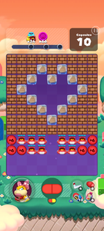 Stage 590 from Dr. Mario World