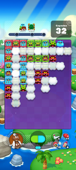 Stage 634 from Dr. Mario World