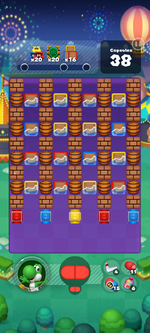 Stage 659 from Dr. Mario World