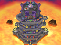 Infernal Tower in the game Mario Party 6.