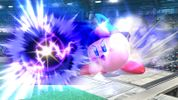 Kirby with Lucario's ability