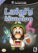 Luigi's Mansion boxart