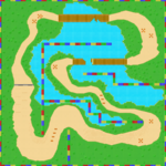 MKSC SNES Donut Plains 3 Map.png