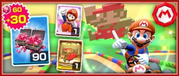 The Mario (Classic) Pack from the Mario vs. Luigi Tour in Mario Kart Tour