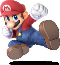 Mario from Super Smash Bros. Ultimate