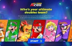 Mario Tennis Aces Mushroom Kingdom Characters Quiz title screen.jpg