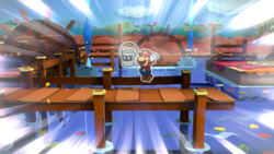 Cherry Lake from Paper Mario: Color Splash.