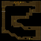 The map for Ghost Valley 3.