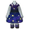 "The ""Midnight Dress"" Mii costume"