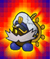 The Catch Card of Admiral Bobbery in Super Paper Mario