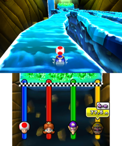 Slip Not from Mario Party: Island Tour