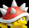 Spiny artwork from New Super Mario Bros. 2