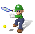 Luigi Artwork - Mario Power Tennis.png