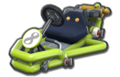 Thumbnail of a light-green Pipe Frame (with 8 icon), in Mario Kart 8.